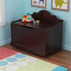 KidKraft Raleigh Toy box in Espresso