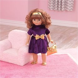 KidKraft Haley Holiday 18 inch Doll