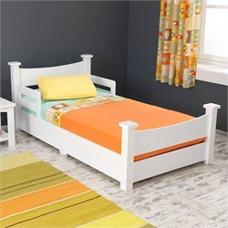 KidKraft Addison Toddler Bed in White