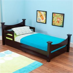 KidKraft Addison Toddler Bed in Espresso