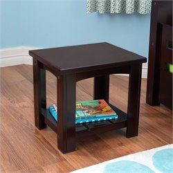 KidKraft Addison Toddler table in Espresso