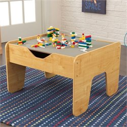 KidKraft Activity Play Table in Gray and Natural