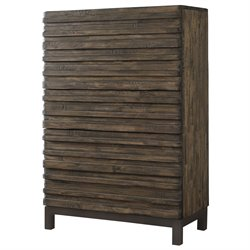 Modus Delfina Solid Wood 6 Drawer Chest in Sahara