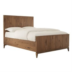 Modus Adler Panel Bed in Natural Walnut