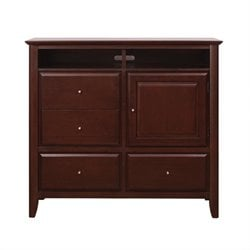 Modus City II 4 Drawer Media Chest in Coco Finish