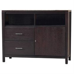 Modus Nevis 2 Drawer Media Chest in Espresso Finish