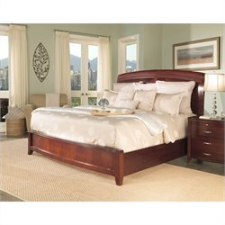 Modus Furniture Brighton Wood Storage Bed in Cinnamon 2 Bedroom Set