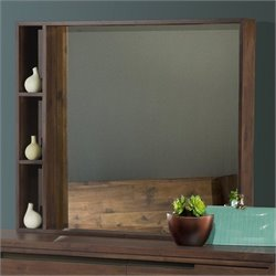 Modus Furniture Portland Mirror in Walnut