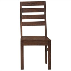 Modus Furniture Genus Dining Chair in Medium Brown (Set of 2)