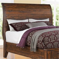Modus Cally Sleigh Headboard in Espresso