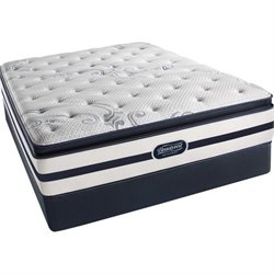 Beautyrest Recharge Battle Creek Plush Pillow Top Mattress