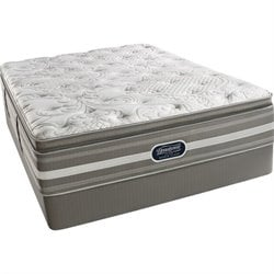 Beautyrest Recharge World Class Bemus Point Plush Pillow Top Mattress Set