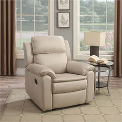 Lifestyle Solutions Aspen Relax-A-Lounger Recliner in Beige