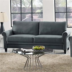 Lifestyle Solutions Fallon Sofa in Gray