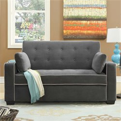 Lifestyle Solutions Monroe Convertible Full Loveseat
