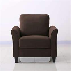 Lifestyle Solutions New Haven Chair in Coffee
