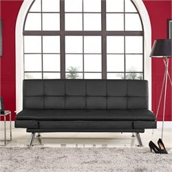 Serta Dawson Dream Sleeper Sofa in Black