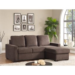 Serta Chantilly Convertible Sectional in Java