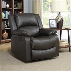 Relax-A-Lounger Pittsburg Recliner in Java