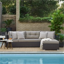 Relaxalounger Kameo Modular Convertible Sectional Set