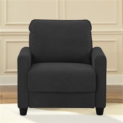 Lifestyle Solutions Rasaun Accent Chair in Black