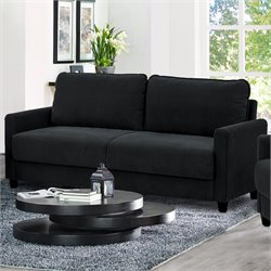 Lifestyle Solutions Rasaun Sofa in Black