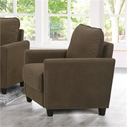 Lifestyle Solutions Kacey Accent Chair in Taupe