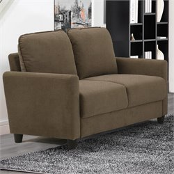 Lifestyle Solutions Kacey Loveseat in Taupe
