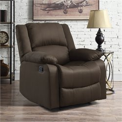 Relaxalounger Bravery Power Recliner in Chocolate