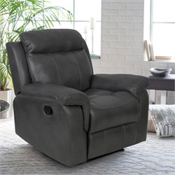 Relaxalounger Chasina Power Recliner in Dark Gray