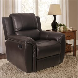 Relaxalounger Tilda Glider Recliner in Dark Brown