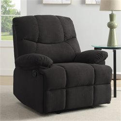 Relaxalounger Quinn Power Recliner in Charcoal Gray