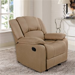 Relaxalounger Clea Glider Recliner in Dove