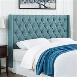 Lifestyle Solutions Odette Kd Headboard in Sea Foam