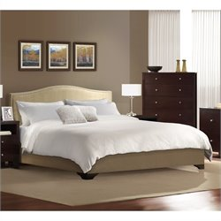 Lifestyle Solutions Magnolia Platform Bed in Cream
