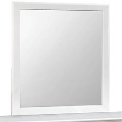Coaster Ashton Mirror in White