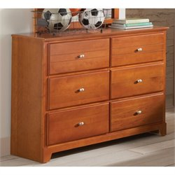 Coaster Ashton 6 Drawer Dresser in Honey