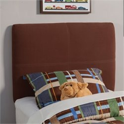 Coaster Dillon Twin Upholstered Headboard in Chocolate