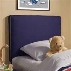 Coaster Lucas Twin Upholstered Headboard in Royal Blue