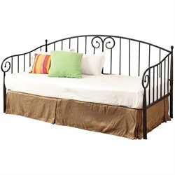 Coaster Twin Metal Daybed in Dark Bronze