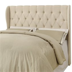 Coaster Murrieta Upholstered Headboard in Beige