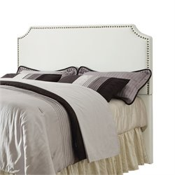 Coaster Novato Upholstered Headboard in White