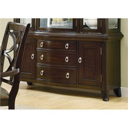 Coaster Meredith 3 Drawer Buffet in Espresso