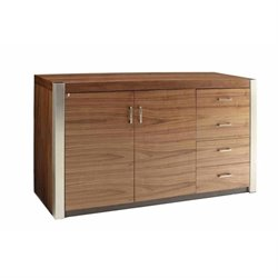 Coaster Faccini 2 Door Buffet in Medium Walnut