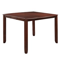 Coaster Dupree Pub Table in Dark Cherry
