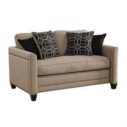 Coaster Pratten Loveseat in Wheat