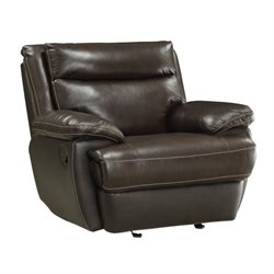 Coaster Macpherson Recliner in Brown