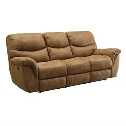 Coaster Hancox Motion Sofa in Light Brown