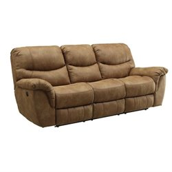 Coaster Hancox Power Sofa in Light Brown