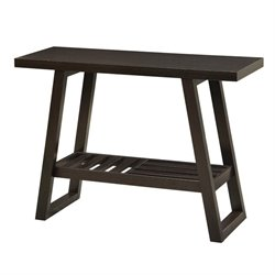 Coaster Occasional Group 1 Shelf Console Table in Cappuccino
